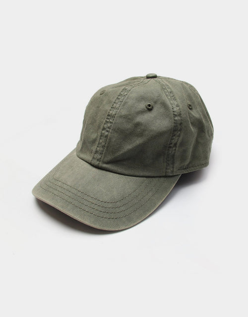 BANDED Women's Hats + Accessories - Olive Plain - Ball Cap