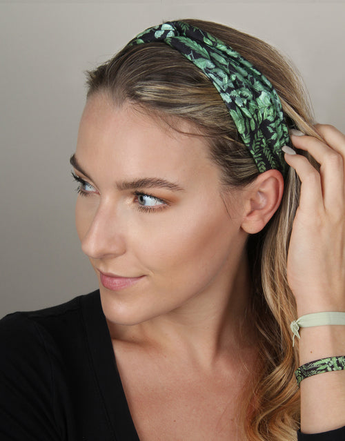 Dark Fern - Twist Headwrap