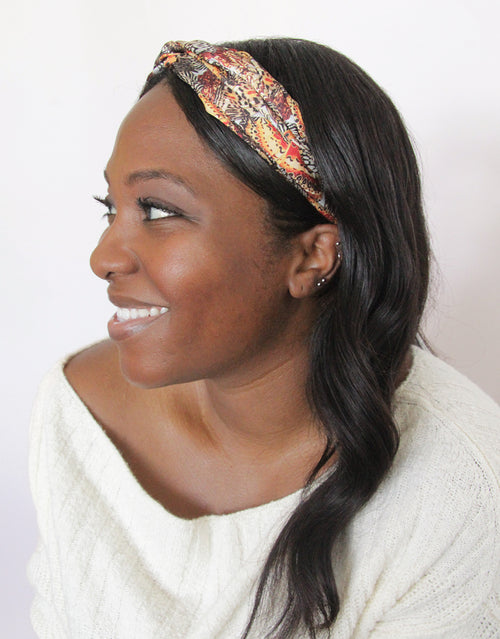 Winter Butterfly - Silky Twist Headband