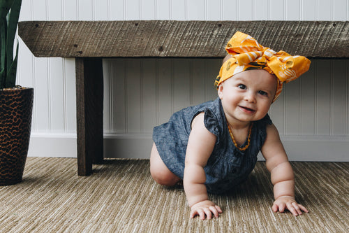 BANDED Baby Headbands + Accessories - Harvest - Big Bow Headband