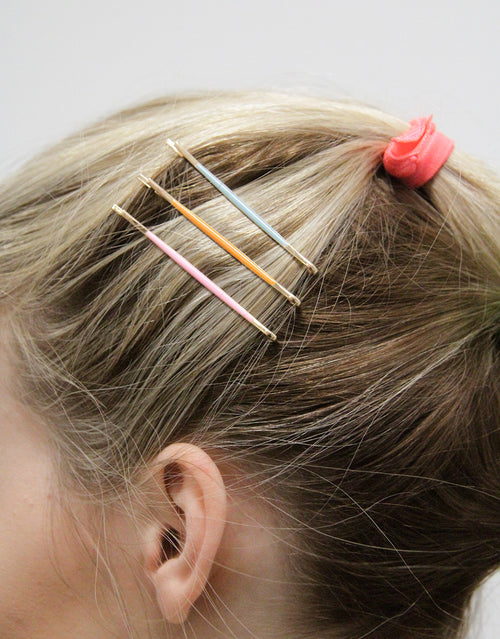 BANDED Hair Accessories Neon Sunset Bobby Pins
