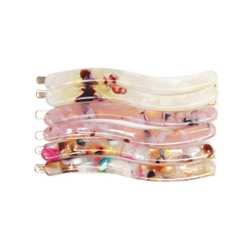 BANDED Hair Accessories - Riviera Shells Pins