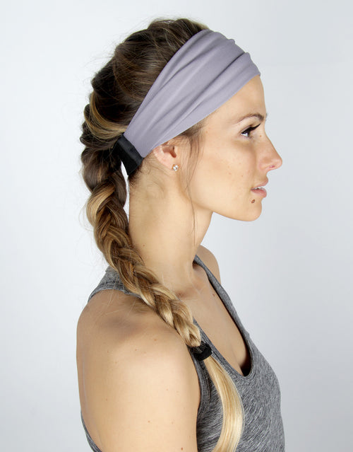 BANDED women's sports & athletic headbands - Iris Shadow - Accelerate Athletic Headband