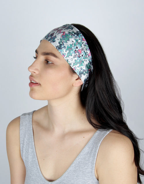 BANDED women's sports & athletic headbands - Seine Reflection - Ascend Athletic Headband