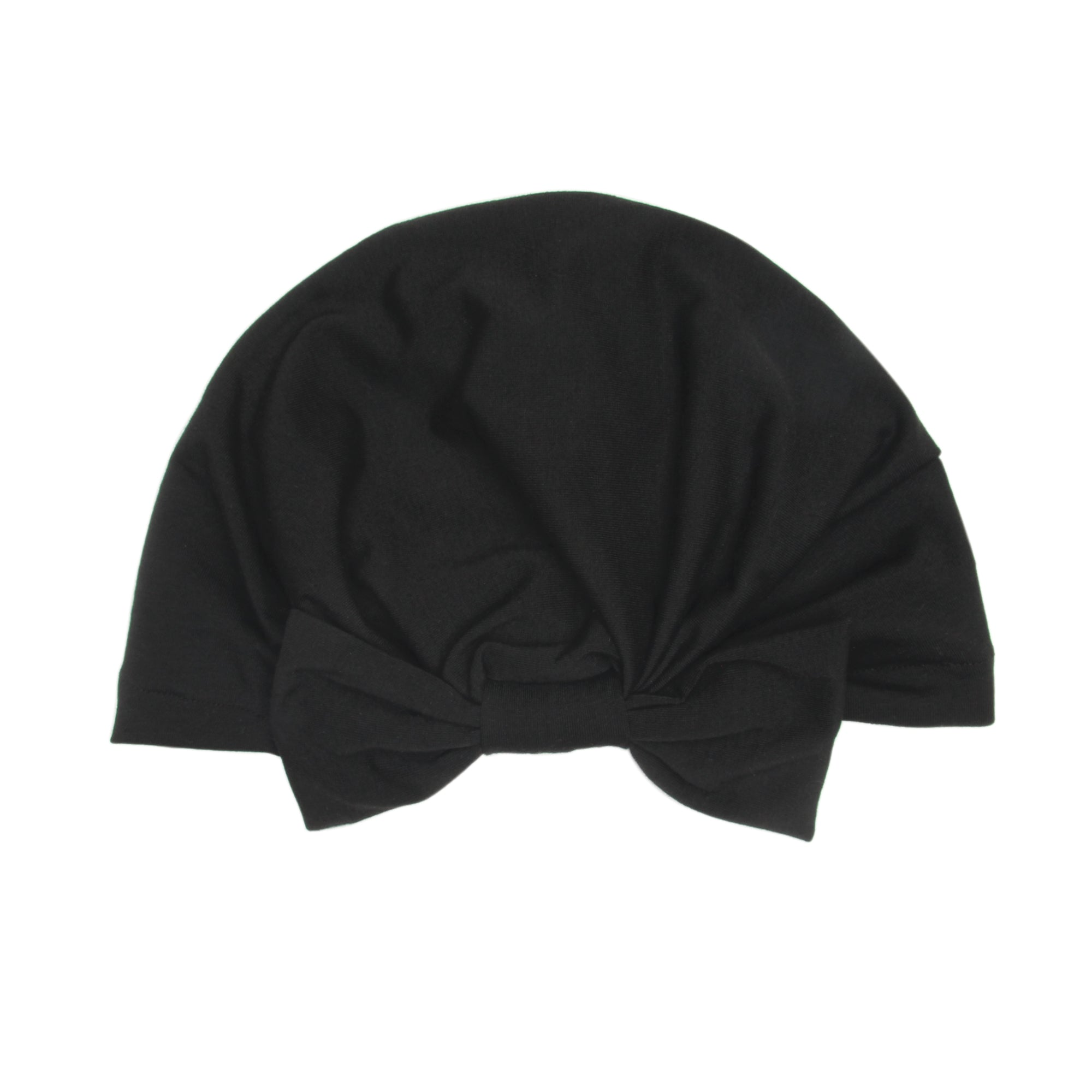 BANDED Women's Full Coverage Headwraps + Hair Accessories - Noir - Fashion Turban