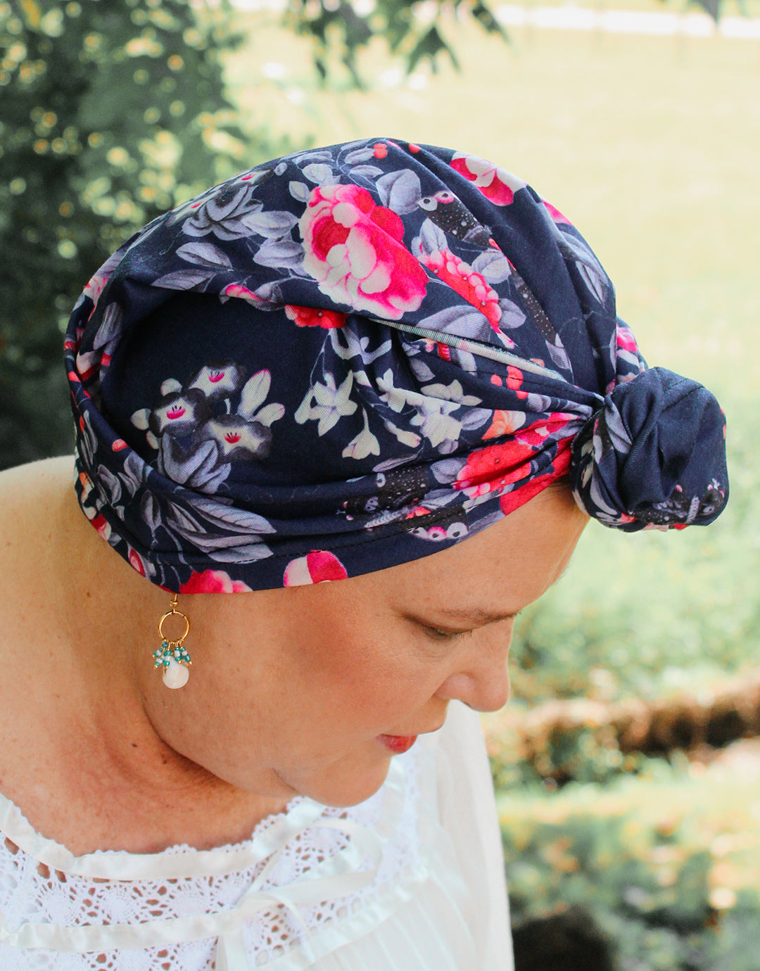 Blue Royal Apartment - Multi-style Headwrap