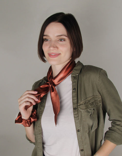Red Clay - Scrunchie Bandana