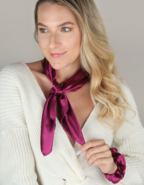 BANDED Women's Premium Hair Accessories | Radiant Sky - Scrunchie Bandana