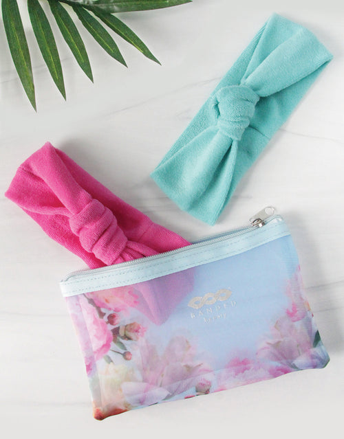 BANDED Hair Accessories - Island Splendor - Headwrap Set With Spa Bag