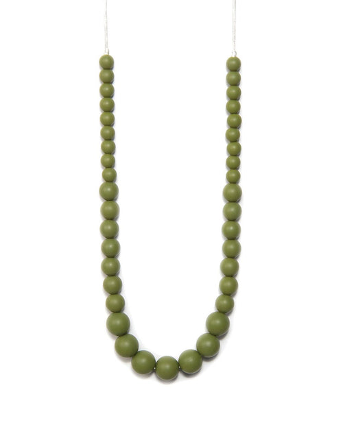 BANDED Baby Accessories + Apparel - Olive Classic - Teething Necklace
