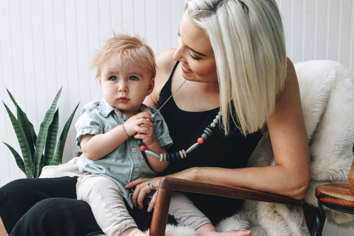 BANDED Baby Accessories + Apparel - Mountain Forest - Teething Necklace