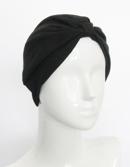 Noir - Fashion Turban