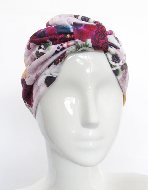 BANDED Women's Full Coverage Headwraps + Hair Accessories - Hampton Garden - Fashion Turban
