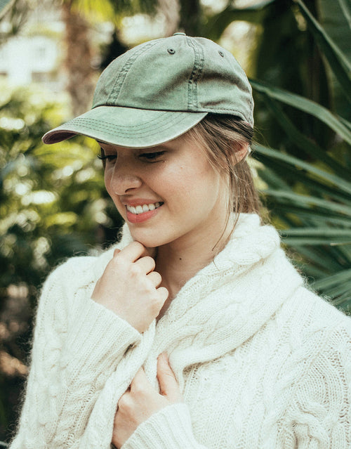 Olive Plain - Ball Cap