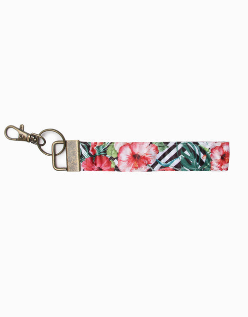BANDED Women's Premium Accessories - Tropic Geo - Keychain with Clasp