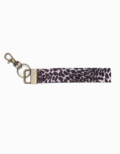BANDED Women's Premium Accessories - Leopard Noir - Keychain with Clasp
