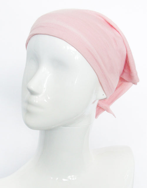 BANDED Women's Full Coverage Headwraps + Hair Accessories - Peony Pink - Multi-style Headwrap