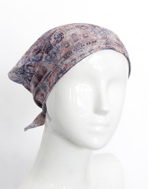 BANDED Women's Full Coverage Headwraps + Hair Accessories - Colonial Tapestry - Multi-style Headwrap