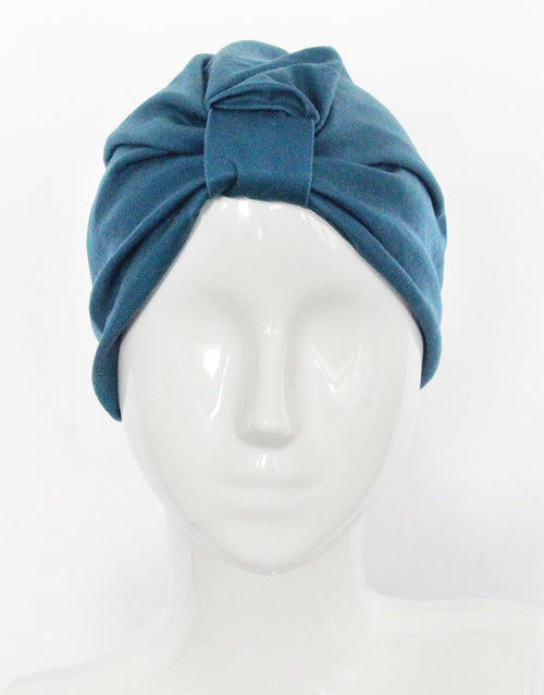 BANDED Women's Full Coverage Headwraps + Hair Accessories - Teal Essence - Fashion Turban