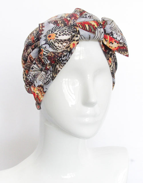 Winter Butterfly - Fashion Turban