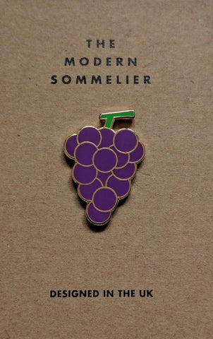 Modern Sommelier Grapes Pin Badge