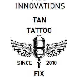 Neo Innovations Tattoo Fix Concealing & Fading Cream - Tan Color