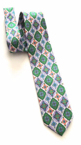 Pangborn Majestic Diamonds Silk Tie