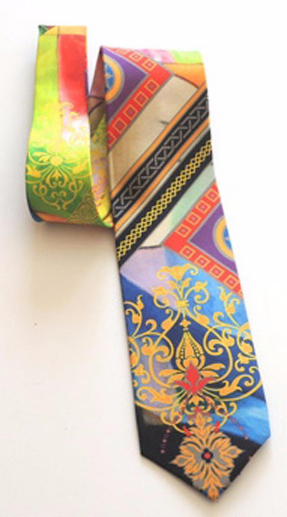 Pangborn Rendezvous in Black Silk Tie