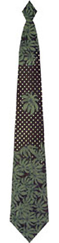 Pangborn South Pacific Woven Tie in black