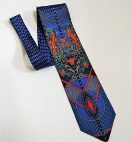 Pangborn Beauty in Blue Vintage Tie