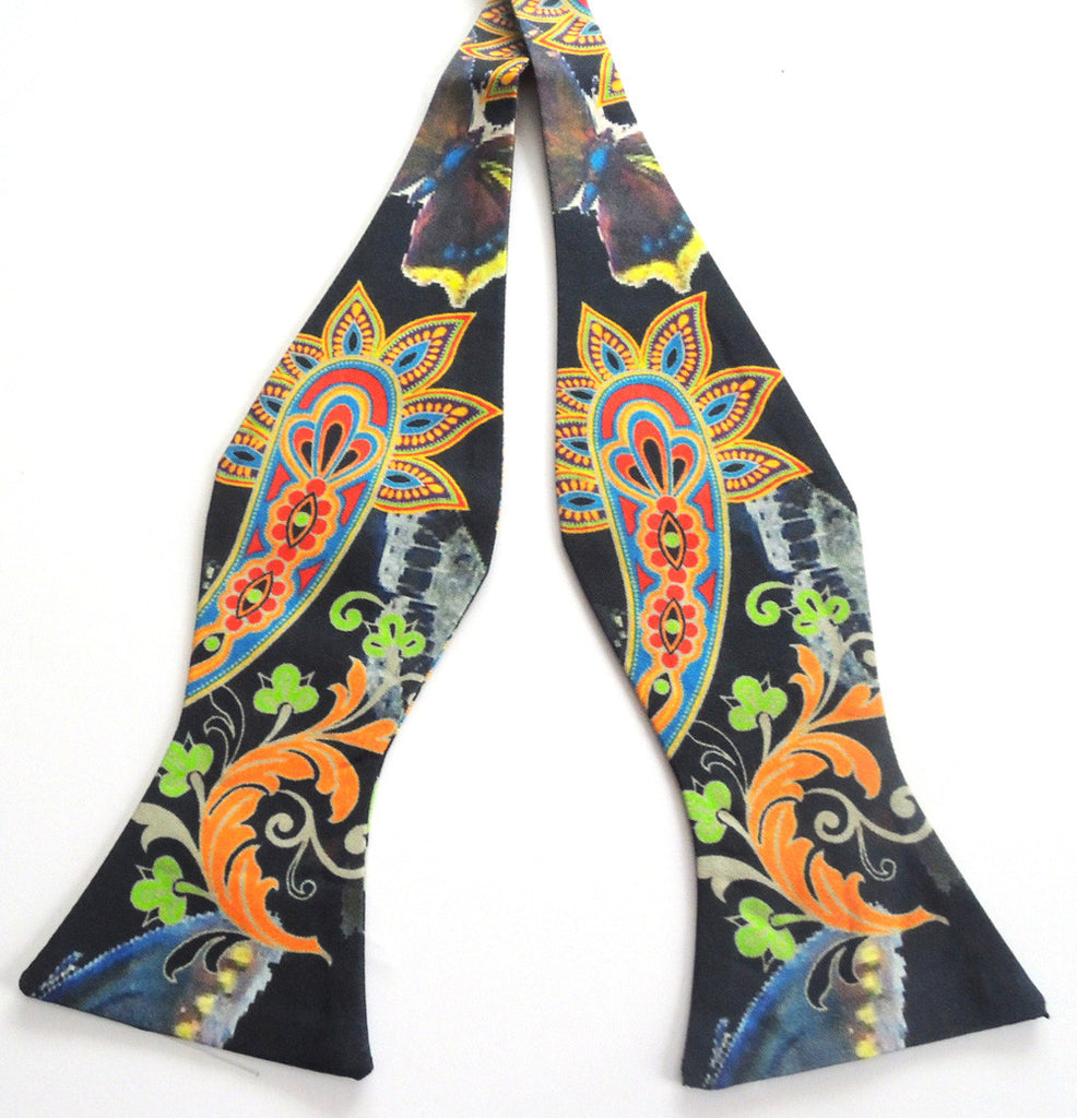 Pangborn Paisley and Patterns Silk Bow Tie