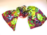 Pangborn Field of Butterflies XL Oblong Silk Scarf