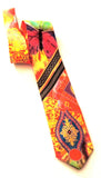 Pangborn Rendezvous in Red Silk Tie