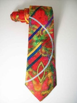Pangborn Currents Silk Tie