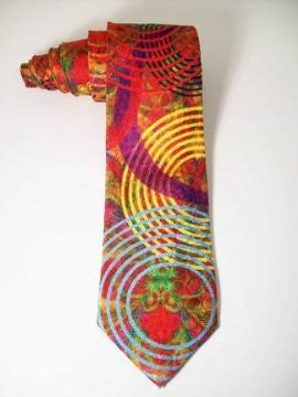 Pangborn Tidal Pools Silk Tie
