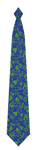 Pangborn Flirtation in blue Silk Tie