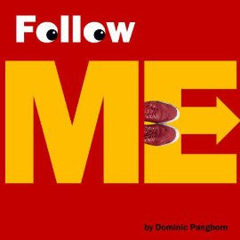 """Follow Me""  - Wearing Red Sneakers - Signed Book and Illustrations by Dominic Pangborn"