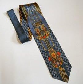 Pangborn Refined Vintage Tie in shades of blue