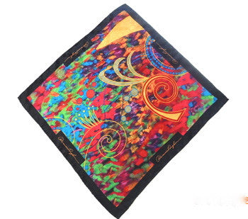 Pangborn Reggae Silk Pocket Square