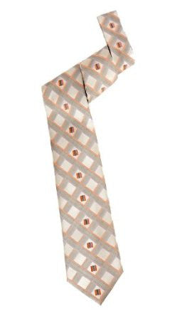 Pangborn Upscale Woven Tie in champagne