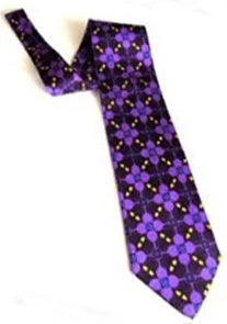 Pangborn Wine Theme Necktie in purple