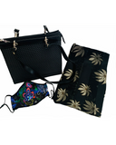 Paisley Mask, Handbag and Silk Scarf