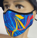 Primary Colors Face Mask