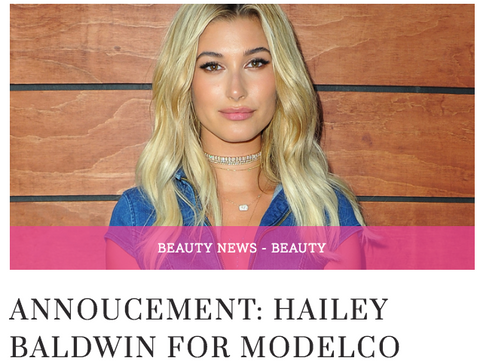 Hailey Baldwin, toronto blogger, girls just know, blogger, fashion blogger, torontos best bloggers, beauty blogger, Hailey Baldwin for ModelCo, Modelco, modelco cosmetics, review, lipgloss review, Hailey Baldwin for Modelco review.