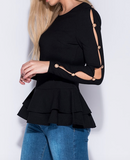 Taylor Peplum Top