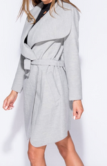 It Girl Waterfall Coat