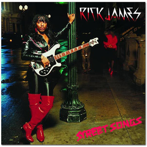 Rick James - Street Songs (Remastered) CD