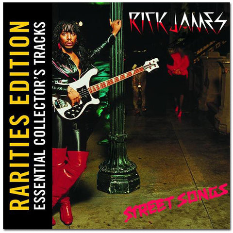 Rick James Street Songs CD