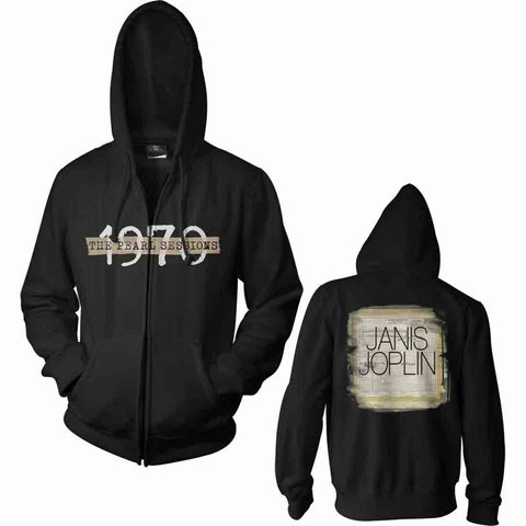 Janis Joplin 1970 Hooded Sweatshirt