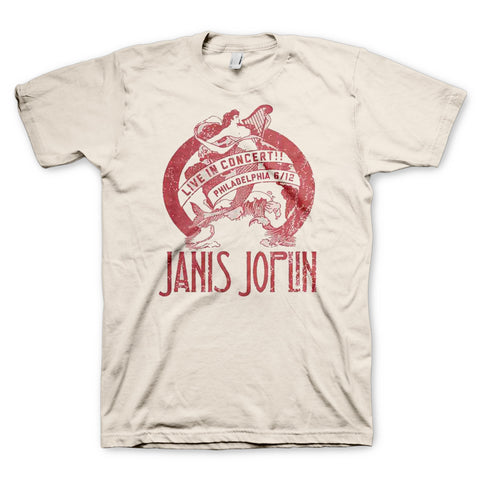 Janis Joplin Freedom Hall T-Shirt